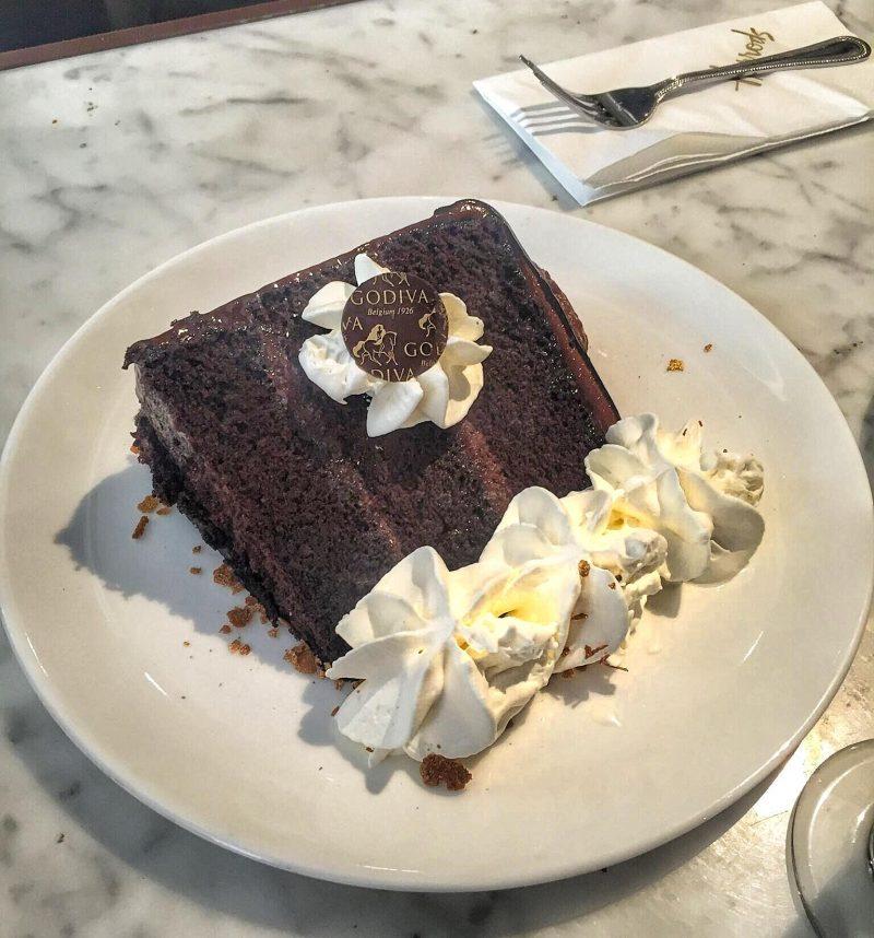 Godiva Chocolate Cake
