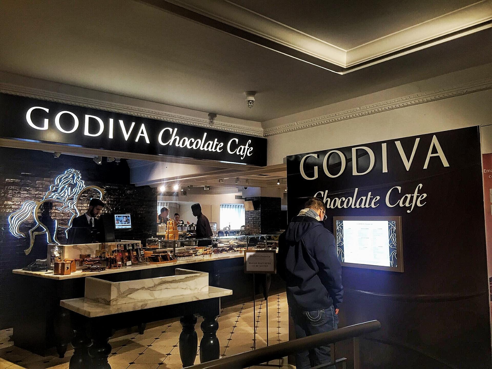 Godiva Chocolate Cafe Menu