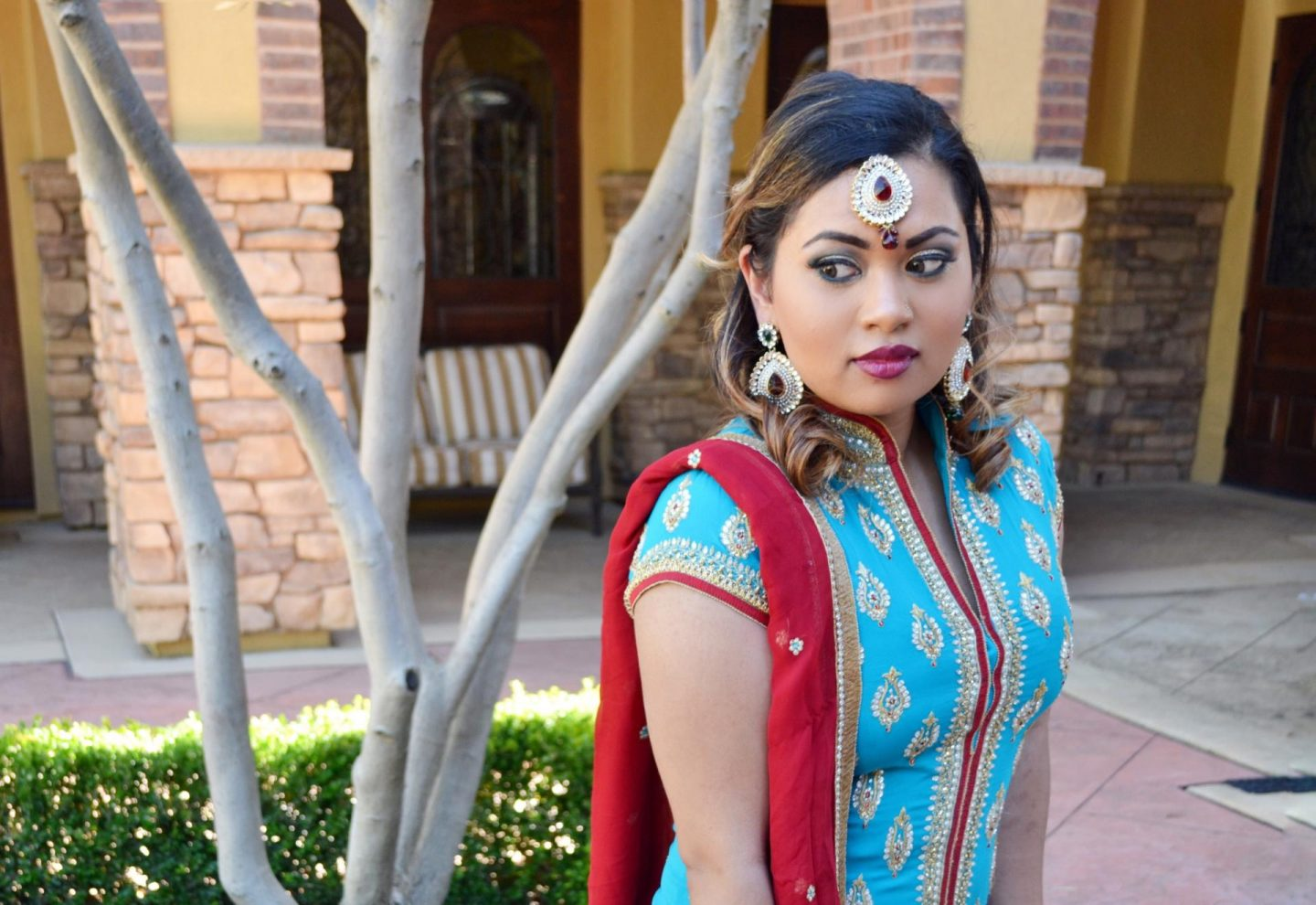 Indian Wedding Day 2 – Sangeet Night Outfit