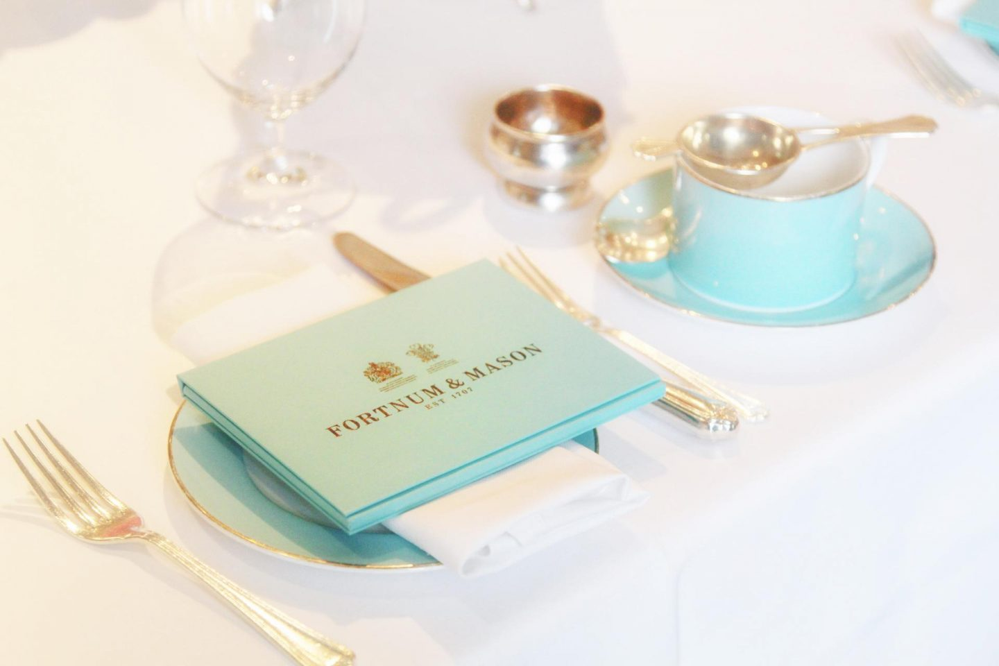 Tea Time at Fortnum & Mason