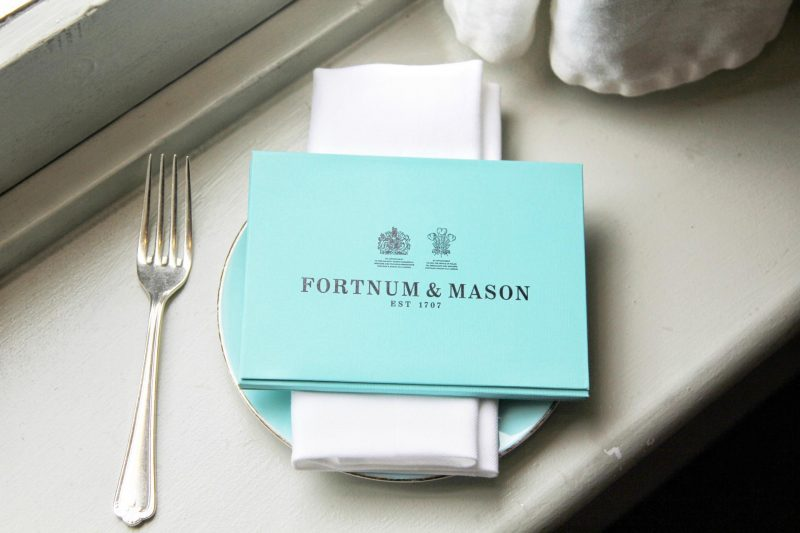 Tea Time at Fortum & Mason