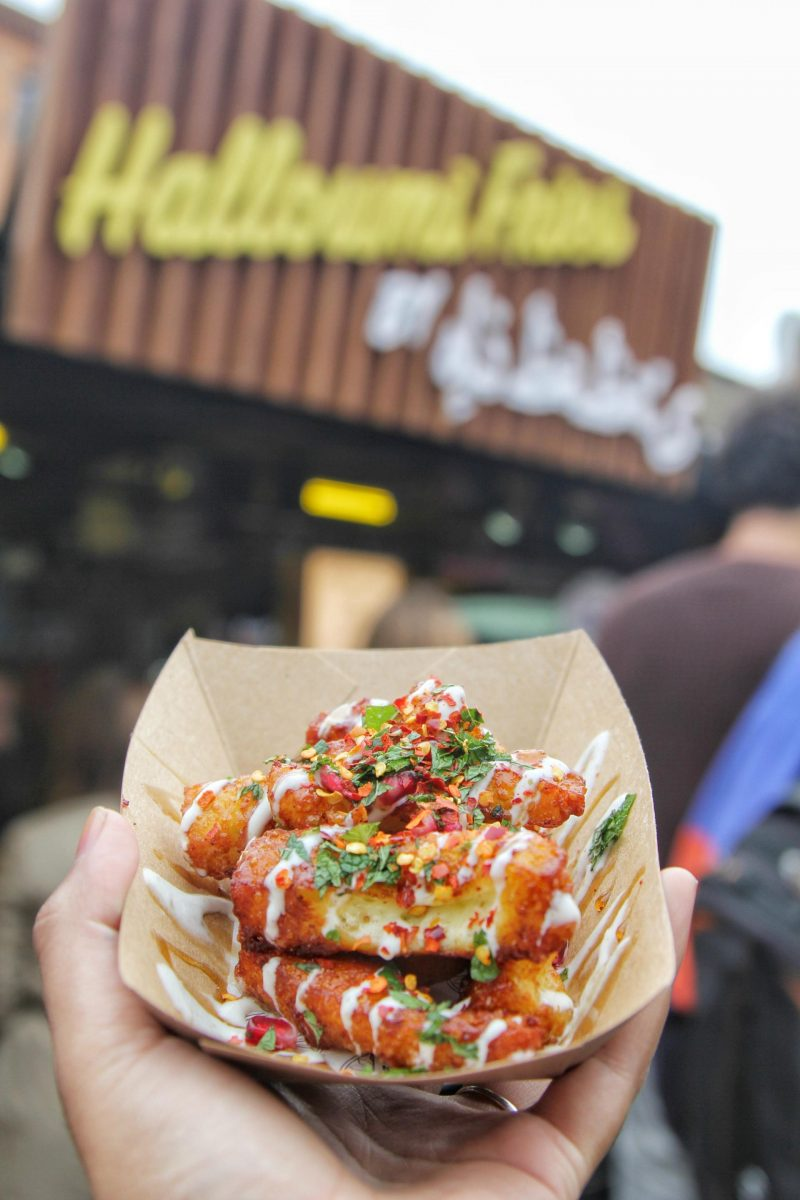 Oli Baba's Halloumi Fries at Kerb Camden Market