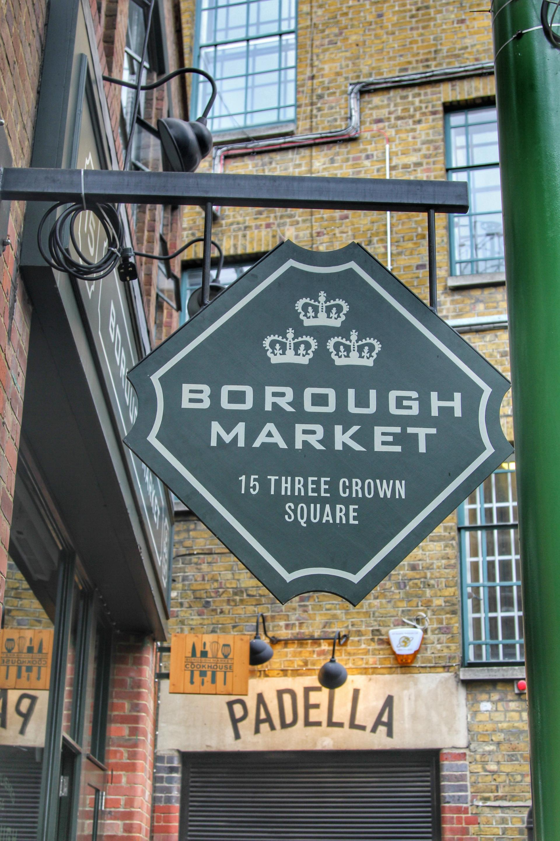 Borough Market #MarketToMichelin