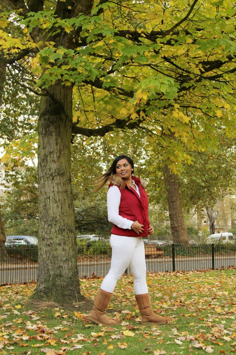 Winter Whites   How to wear white jeans in the winter