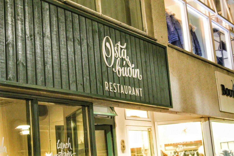 OstaBudin Restaurant in Reykjavik, Iceland