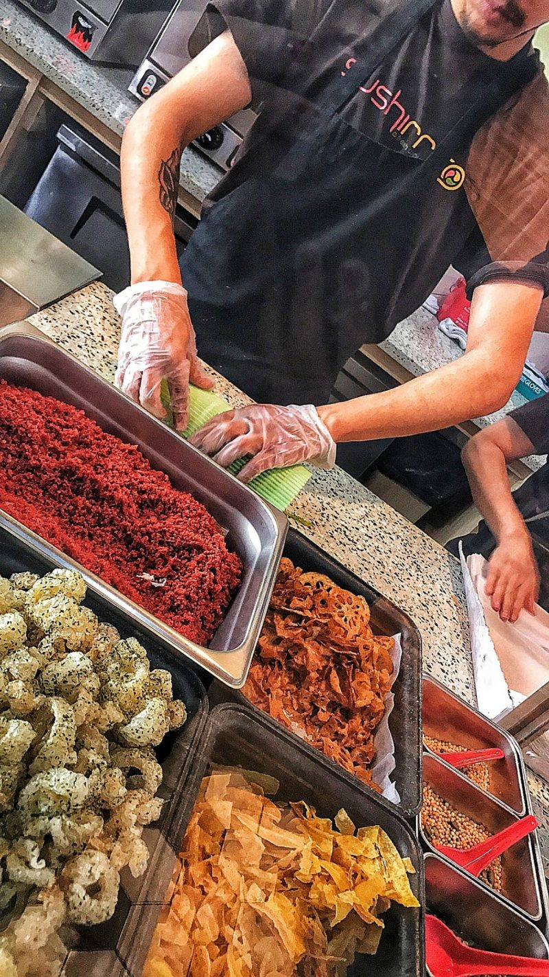 Review of Sushirrito NYC - A sushi burrito concept