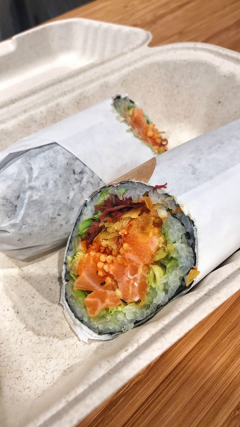 Review of Sushirrito NYC - A sushi burrito concept