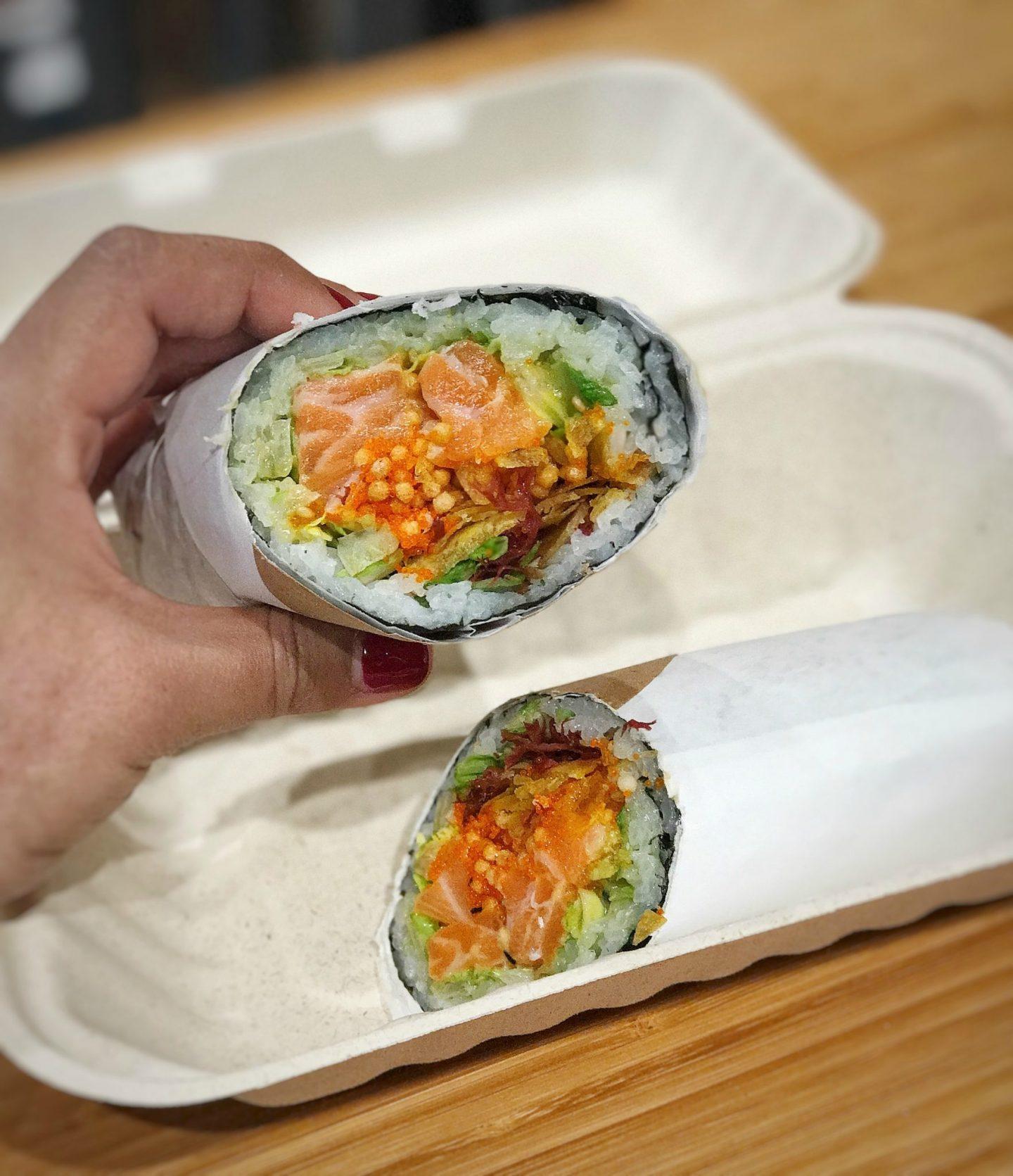 Review of Sushirrito NYC – A sushi burrito concept