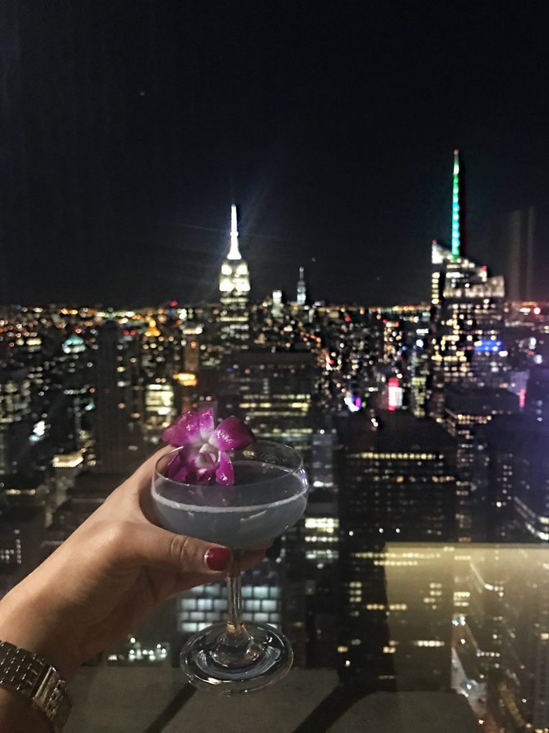 Bar SixtyFive in New York City - Cocktails and a view