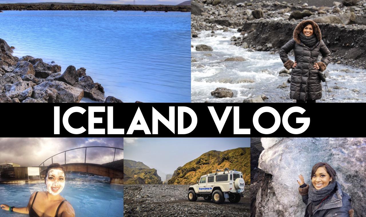 Iceland Vlog | Golden Circle, Blue Lagoon, Reykjavik, Gullfoss Waterfalls