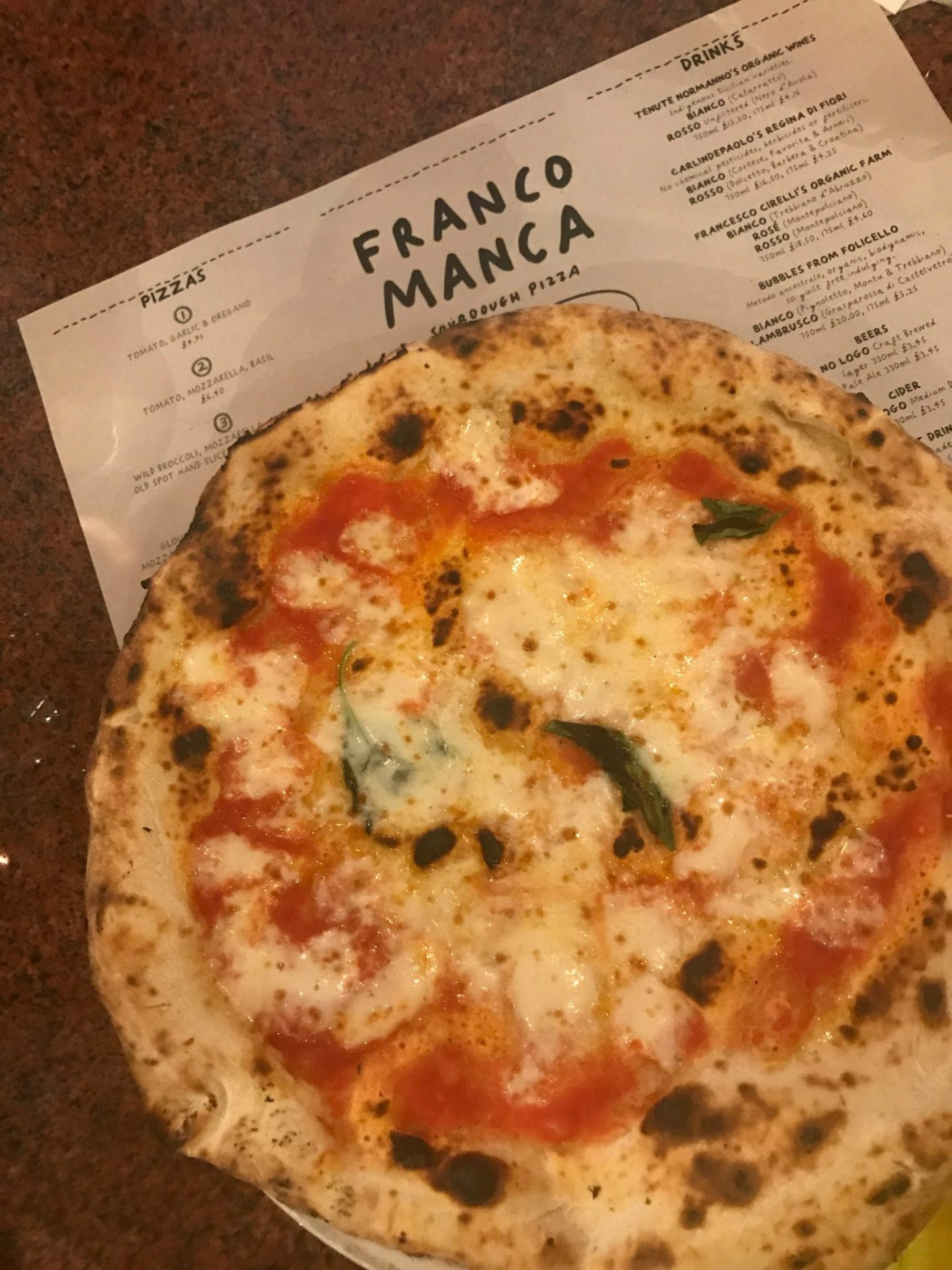 Franco Manca – Sourdough Pizza in London