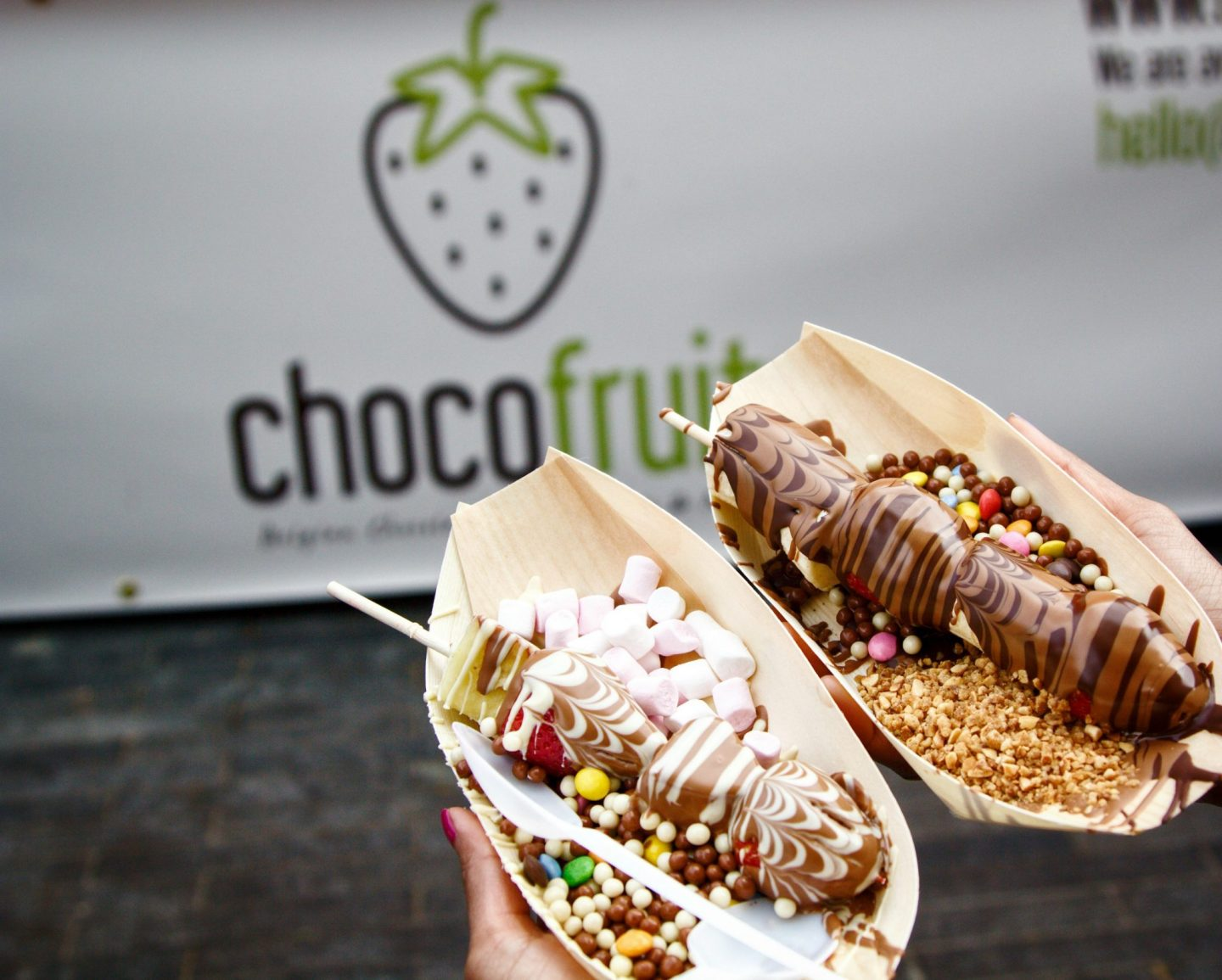ChocoFruit | Belgian Chocolate covered fruit at Southbank Center