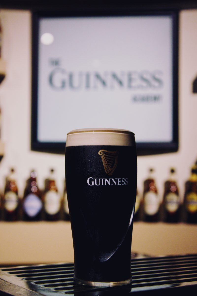 Guinness Factory tour in Dublin, Ireland