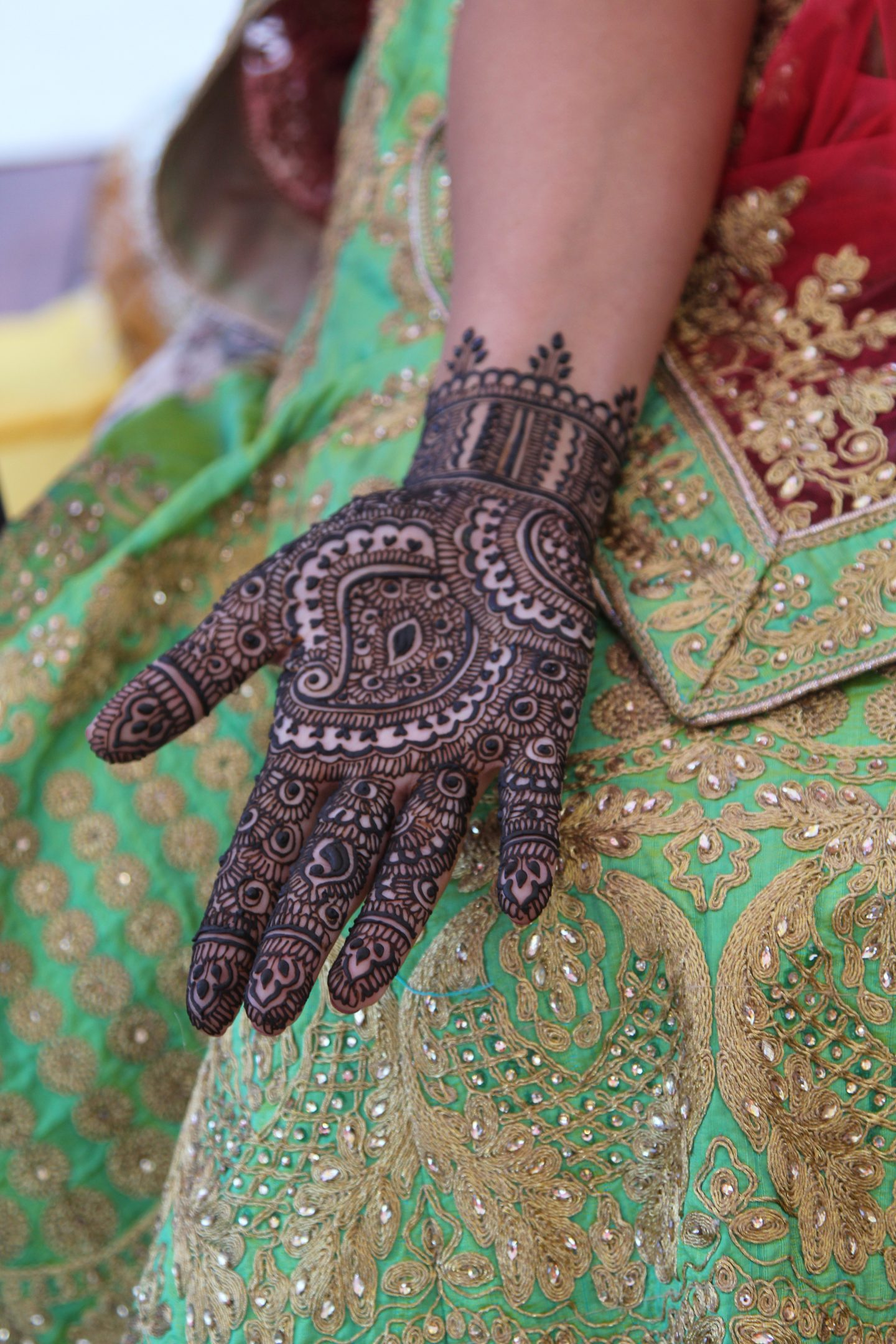 Mehndi Night Outfit – South Asian Wedding