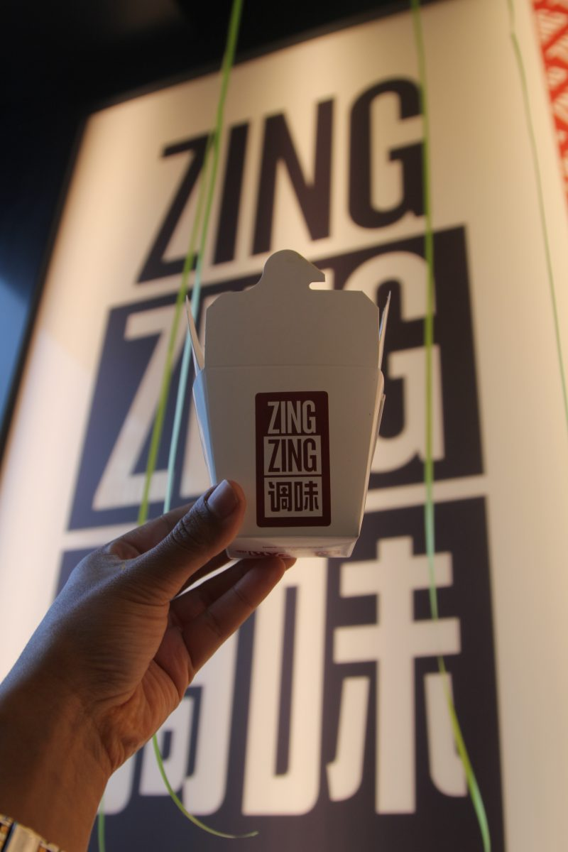 Zing Zing Vegetarian Chinese Food - ZZ Green Launch Event