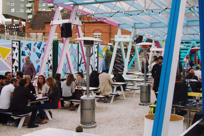 Pitch Stratford - New Bar and Street Food Terrace in East London