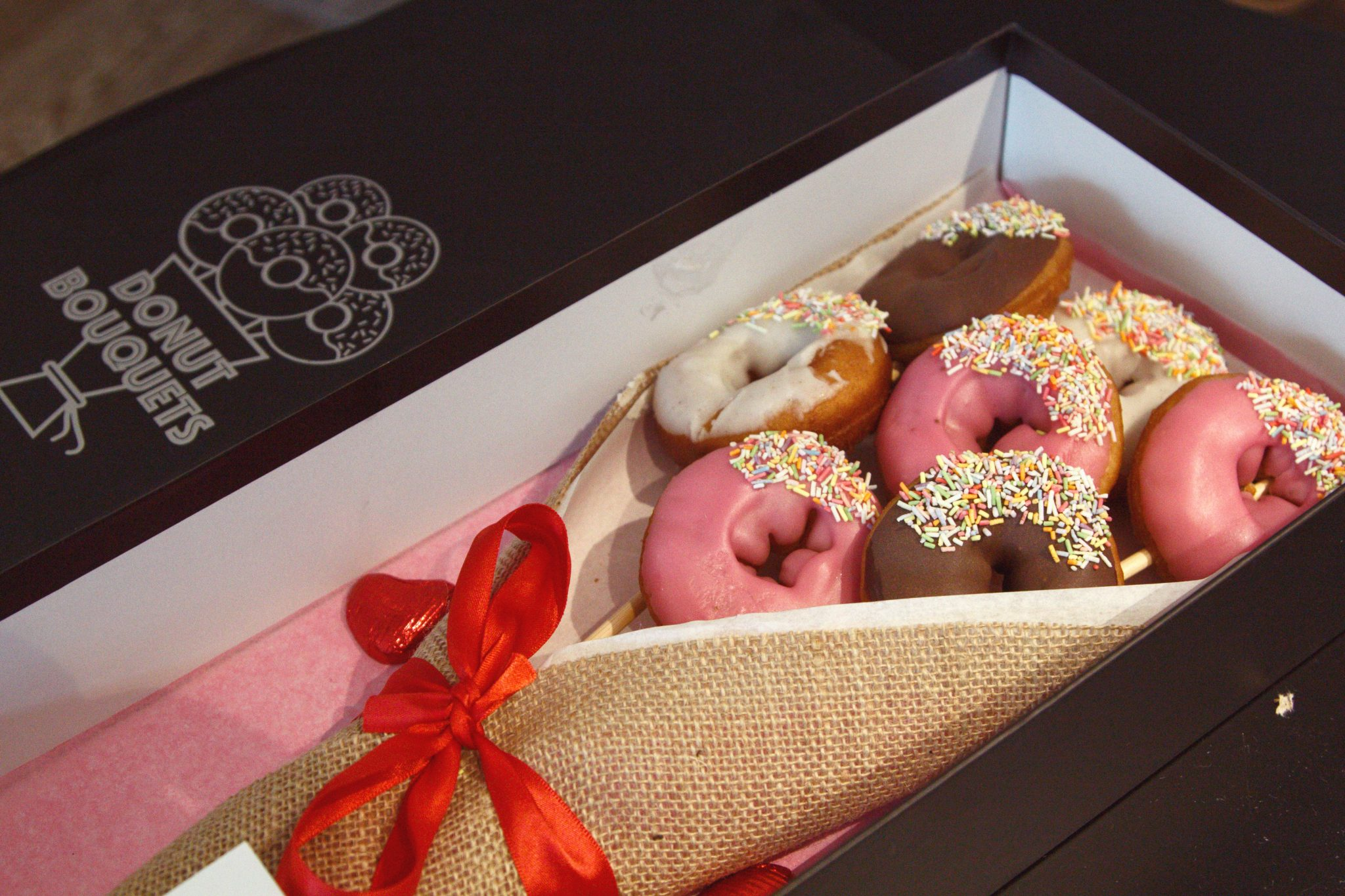 Donut delivery london unique gifts flower alternatives last minute
