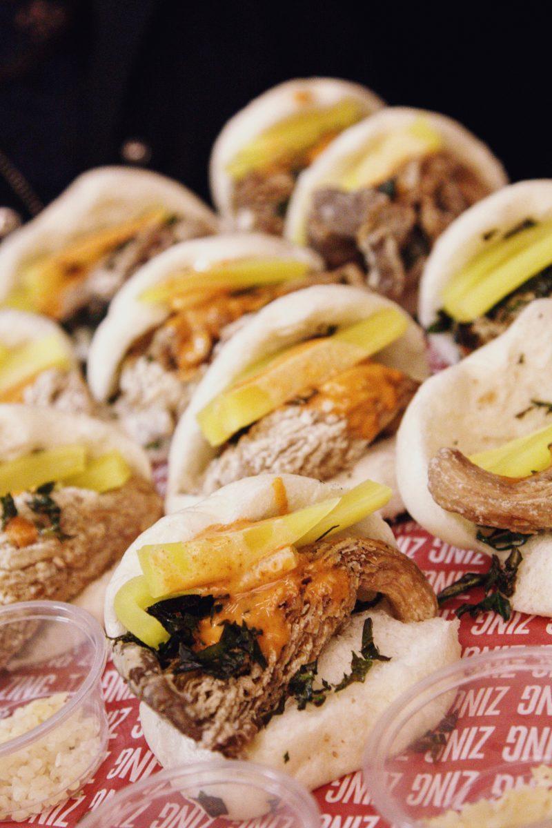 Zing Zing Chinese New Year Menu takeaway food bao bun vegetarian mushroom