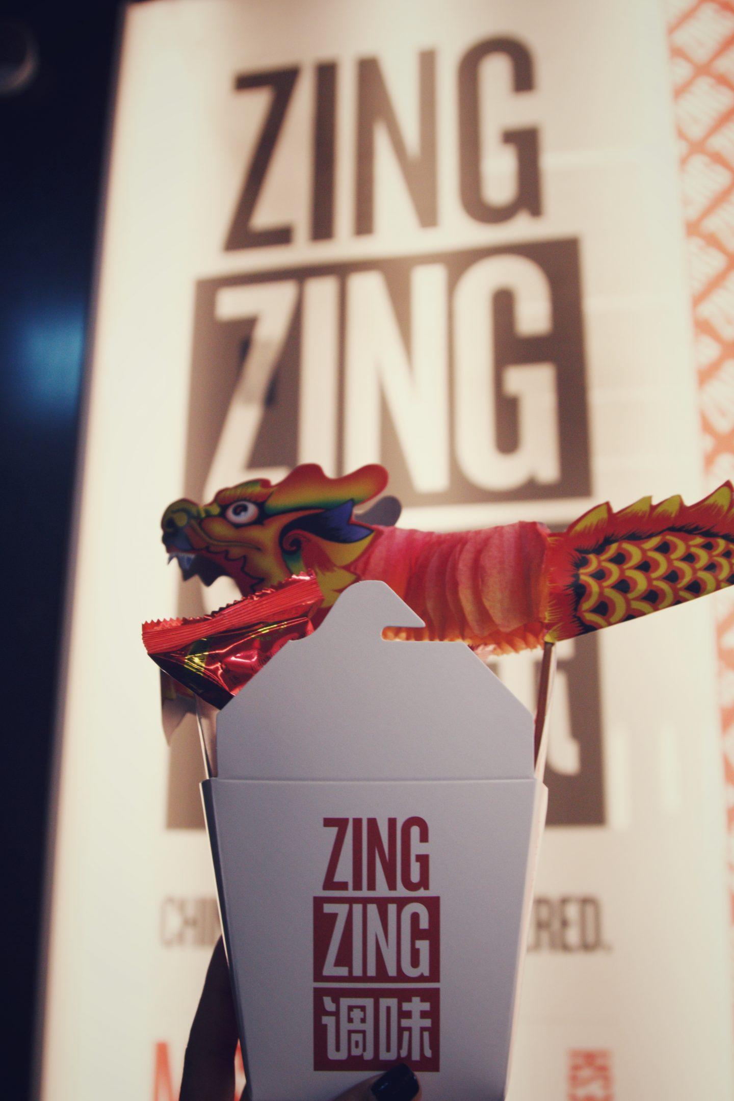 Zing Zing Chinese New Year Menu
