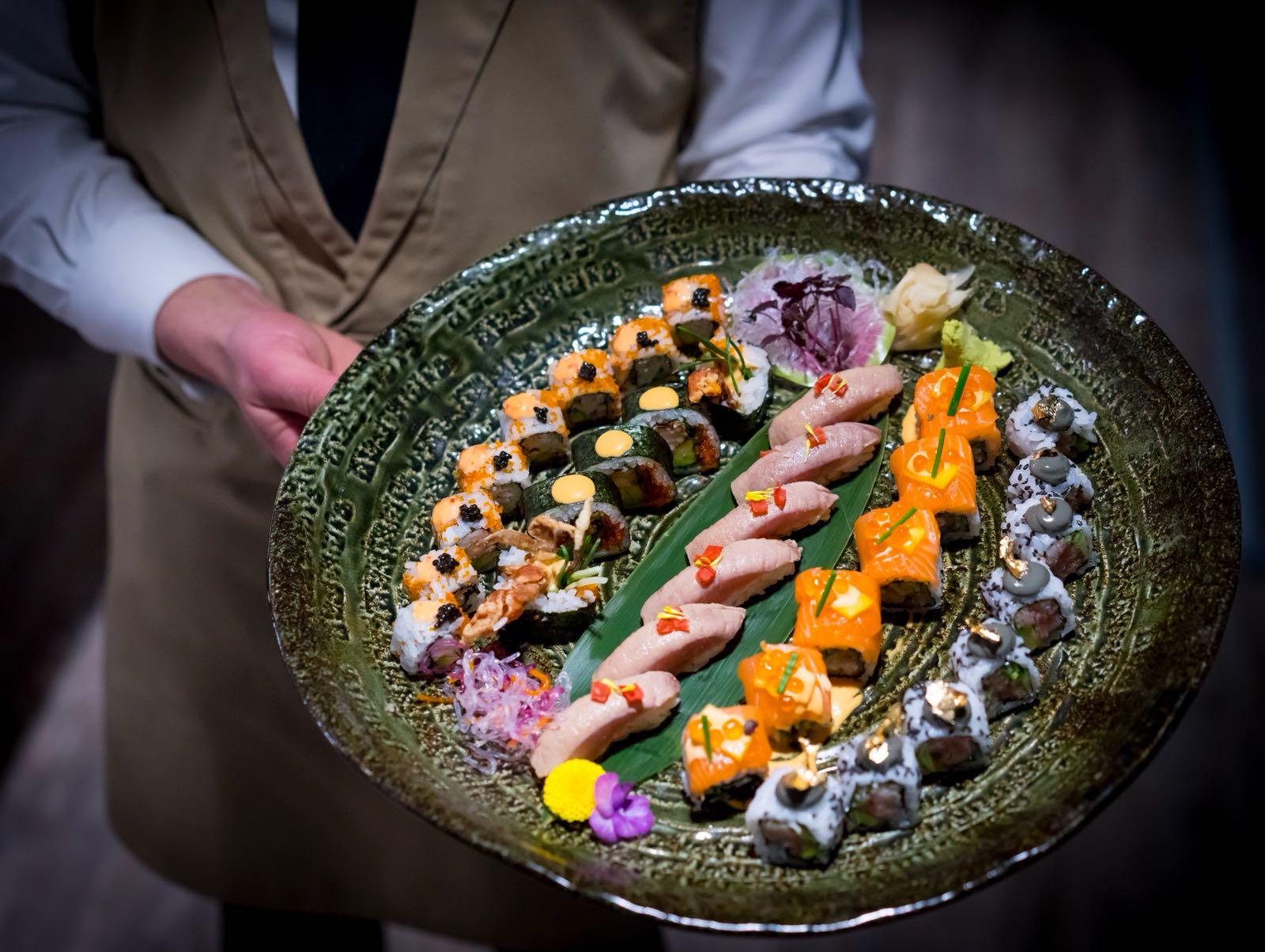 sushi at four degree