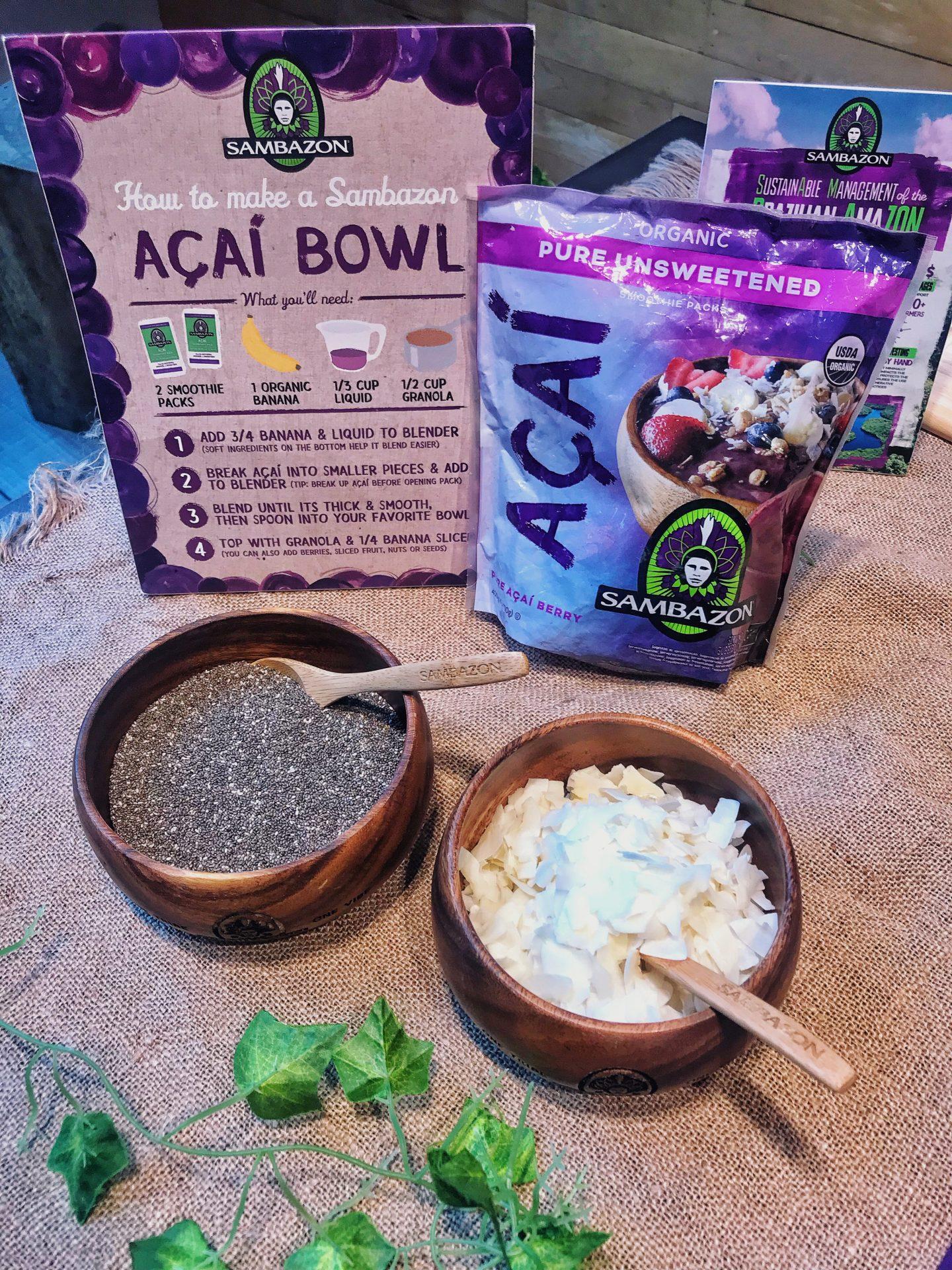 Sambazon Acai Bowl Masterclass at Whole Foods